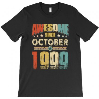Awesome Since October 1999 T-shirt Designed By Hung