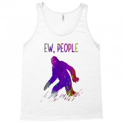 bigfoot ew people   brush paint Tank Top | Artistshot