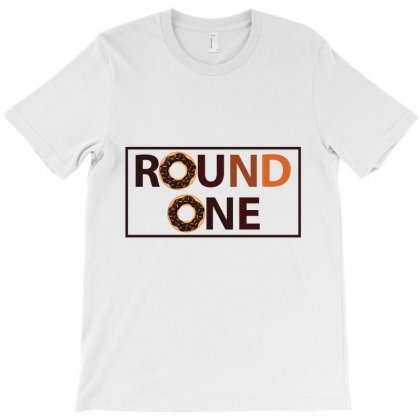 Round One T-shirt Designed By Emardesign