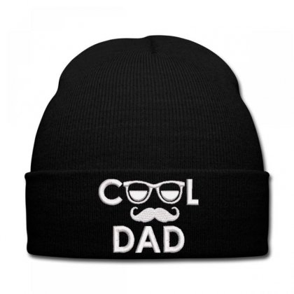 Cool Dad Embroidered Hat Knit Cap Designed By Madhatter