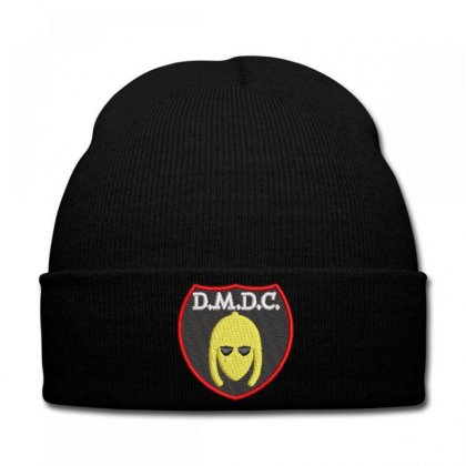 D.m.d.c. Embroidered Hat Knit Cap Designed By Madhatter