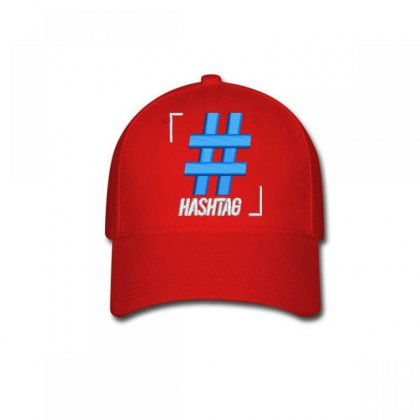 Hashtag Embroidered Hat Baseball Cap Designed By Madhatter