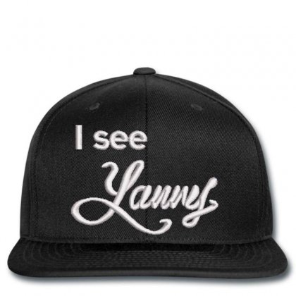 I See Embroidered Hat Snapback Designed By Madhatter