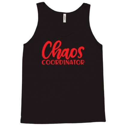 Chaos Coordinator Tank Top Designed By R1dw4n