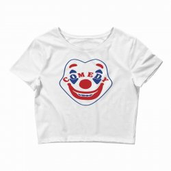 comedy clown Crop Top | Artistshot