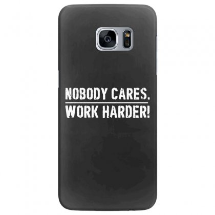 Lamar Jackson Nobody Cares Work Harder   For Dark Samsung Galaxy S7 Edge Case Designed By Hot Maker
