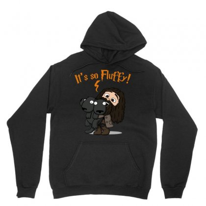 It's So Fluffy! Unisex Hoodie Designed By Jablay