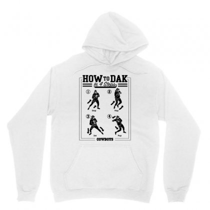 How To Dak In 4 Steps   In Black Unisex Hoodie Designed By Hot Maker