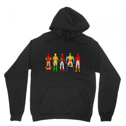 Heroes Butts Squad Unisex Hoodie Designed By Hot Maker