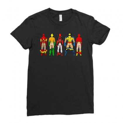 Heroes Butts Squad Ladies Fitted T-shirt Designed By Hot Maker