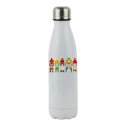 Heroes Butts Squad Stainless Steel Water Bottle Designed By Hot Maker