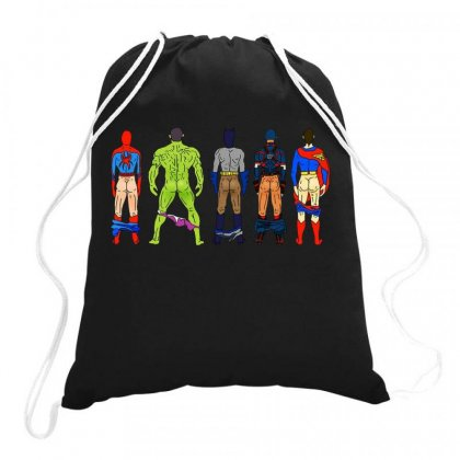 Heroes Butts Hot Drawstring Bags Designed By Hot Maker