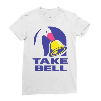 Goose Game Take Bell Ladies Fitted T-shirt Designed By Hot Maker
