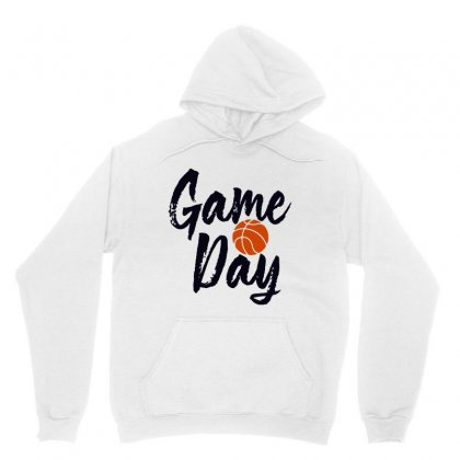 Game Day Happy Day Basketball Lovely Unisex Hoodie Designed By Hot Maker