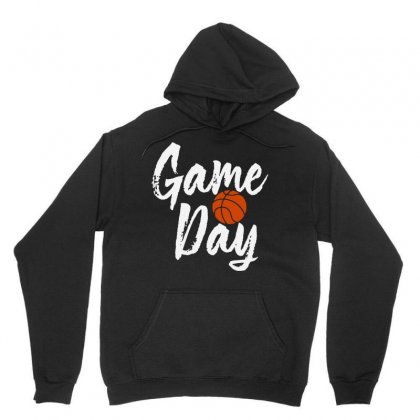 Game Day Happy Day Basketball Lovely   For Dark Unisex Hoodie Designed By Hot Maker