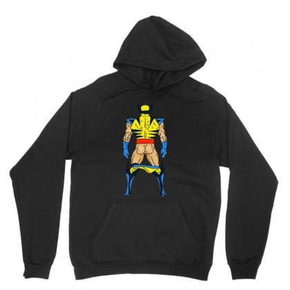 Funny Wolverine Sexy Butt Unisex Hoodie Designed By Hot Maker