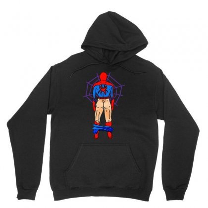 Funny Spider Man Butt Unisex Hoodie Designed By Hot Maker