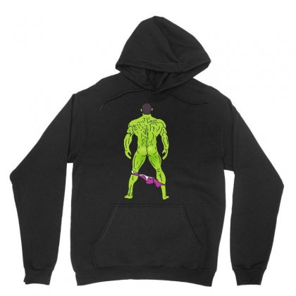 Funny Sexy Hulk Butt Unisex Hoodie Designed By Hot Maker