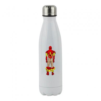 Funny Iron Man Sexy Butt Stainless Steel Water Bottle Designed By Hot Maker