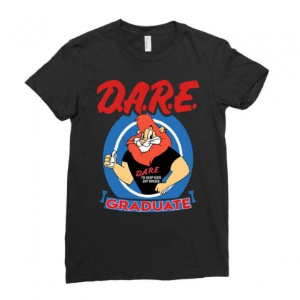 Dare Graduate Ladies Fitted T-shirt Designed By Hot Maker