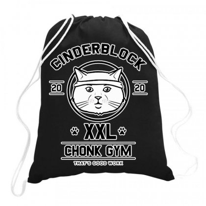 Chonk Gym Drawstring Bags Designed By Hot Maker