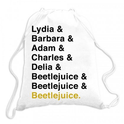 Beetlejuice The Musical   For Light Drawstring Bags Designed By Hot Maker