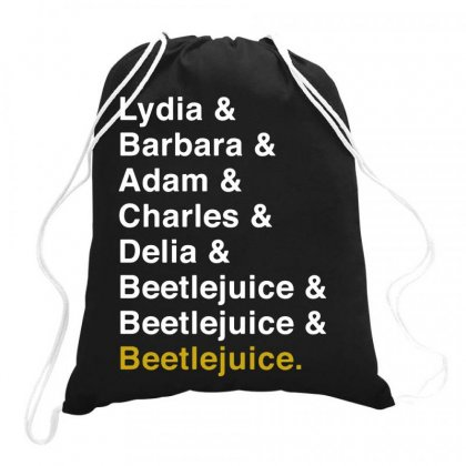 Beetlejuice The Musical   For Dark Drawstring Bags Designed By Hot Maker