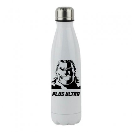 All Might Plus Ultra Stainless Steel Water Bottle Designed By Hot Maker