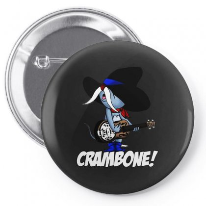 Uncle Pecos   Crambone Pin-back Button Designed By Jablay
