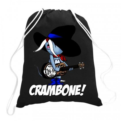 Uncle Pecos   Crambone Drawstring Bags Designed By Jablay