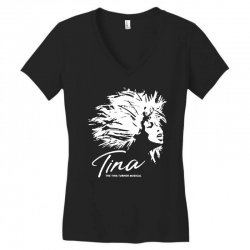the tina turner musical Women's V-Neck T-Shirt | Artistshot