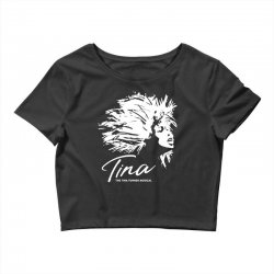 the tina turner musical Crop Top | Artistshot