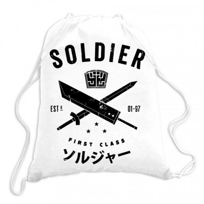 Soldier Drawstring Bags Designed By Jablay