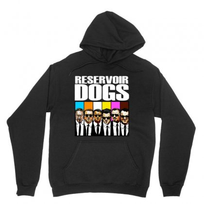 Reservoir Dogs Squad Unisex Hoodie Designed By Jablay