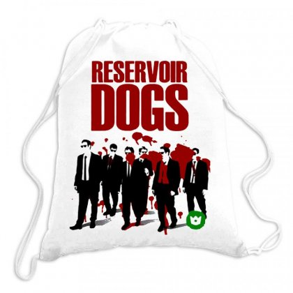 Reservoir Dogs Drawstring Bags Designed By Jablay