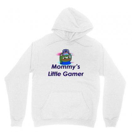 Mommy's Little Gamer Unisex Hoodie Designed By Jablay