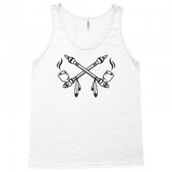 funny indian peace pipe Tank Top | Artistshot