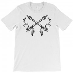 funny indian peace pipe T-Shirt | Artistshot