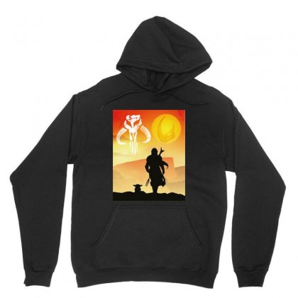 Mando Clan Of Two Unisex Hoodie Designed By Jablay