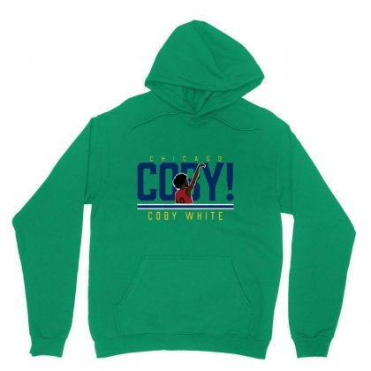 Coby White Unisex Hoodie Designed By Jablay