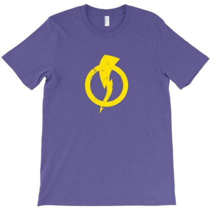 Static Shock Logo T-shirt Designed By Arum