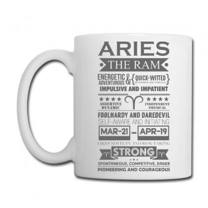 Aries The Ram Astrology Coffee Mug Designed By Jablay