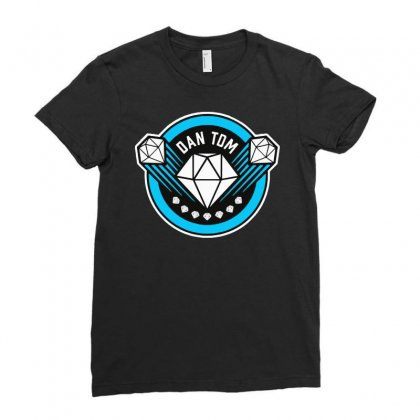 Dantdm Ladies Fitted T-shirt Designed By Jablay