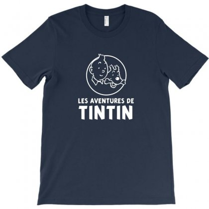 Of Tintin Movie T-shirt Designed By Arum