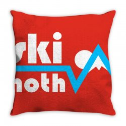 ski hoth logo Throw Pillow | Artistshot