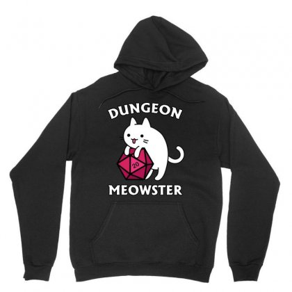 Dungeon Meowster Unisex Hoodie Designed By Jablay
