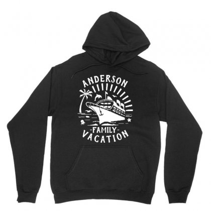 Family Vacation Cruise Ship Trip   In White Unisex Hoodie Designed By Jablay