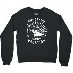 family vacation cruise ship trip   in white Crewneck Sweatshirt | Artistshot