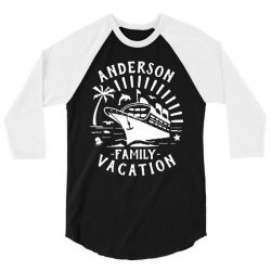 family vacation cruise ship trip   in white 3/4 Sleeve Shirt | Artistshot