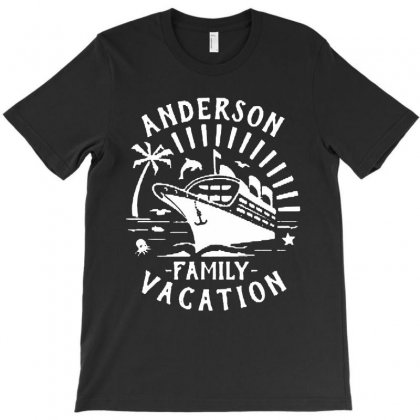 Family Vacation Cruise Ship Trip   In White T-shirt Designed By Jablay
